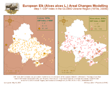 European Elk Areal Modelling with GSF (Step 1)