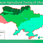 Ukraine Nature-Agriculture zoning maps are available