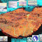 Wrangel Island GIS author's collage